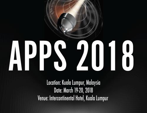 2018 APPS will be held in Kuala Lumpur, Malaysia